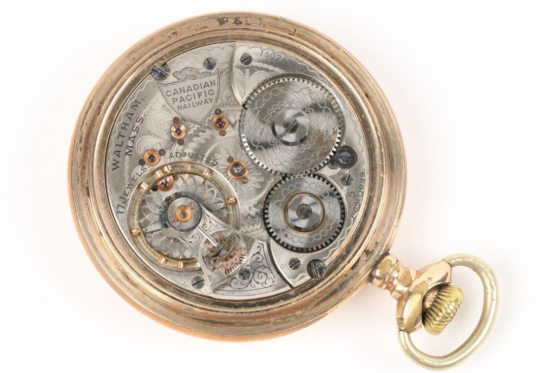 Waltham, Canadian Pacific Railway Pocket Watch - 6