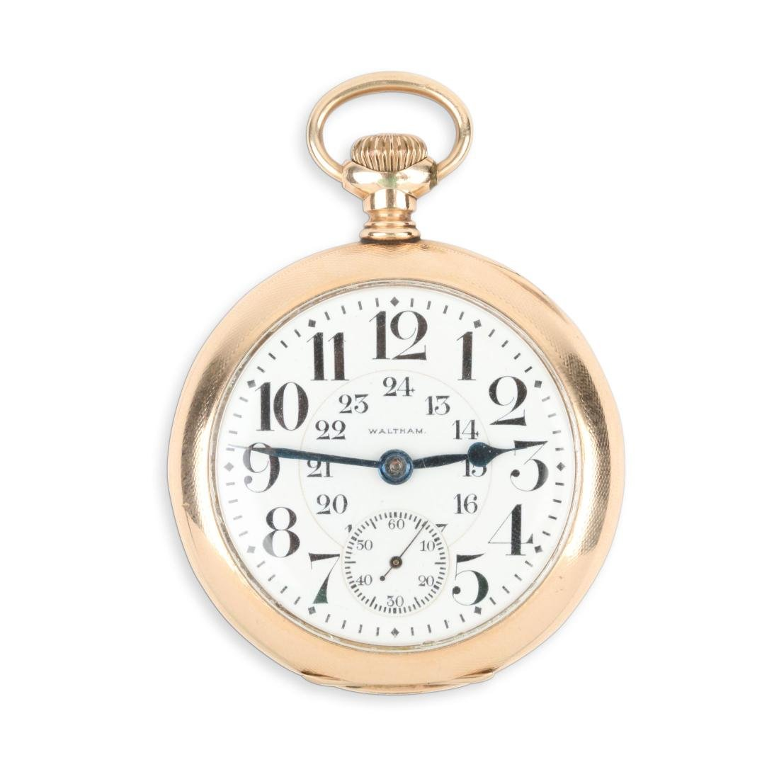Waltham, Canadian Pacific Railway Pocket Watch