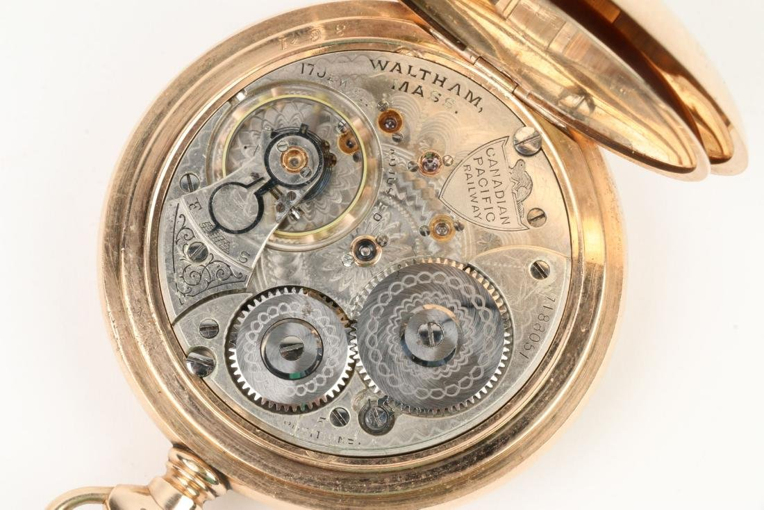 Waltham, Canadian Pacific Railway Pocket Watch - 7