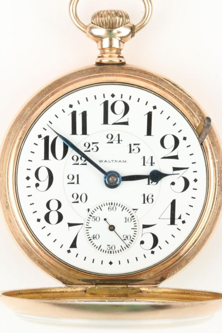 Waltham, Canadian Pacific Railway Pocket Watch - 8