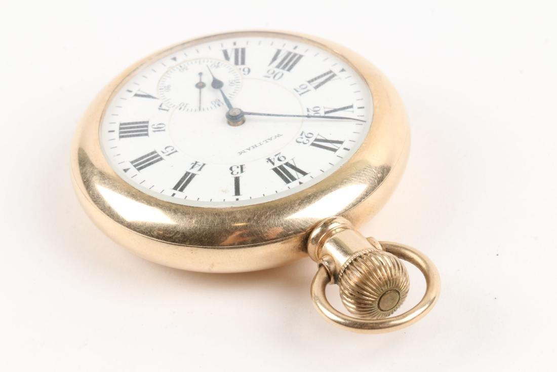 """Waltham, """"845"""" Railroad Pocket Watch - 2"""