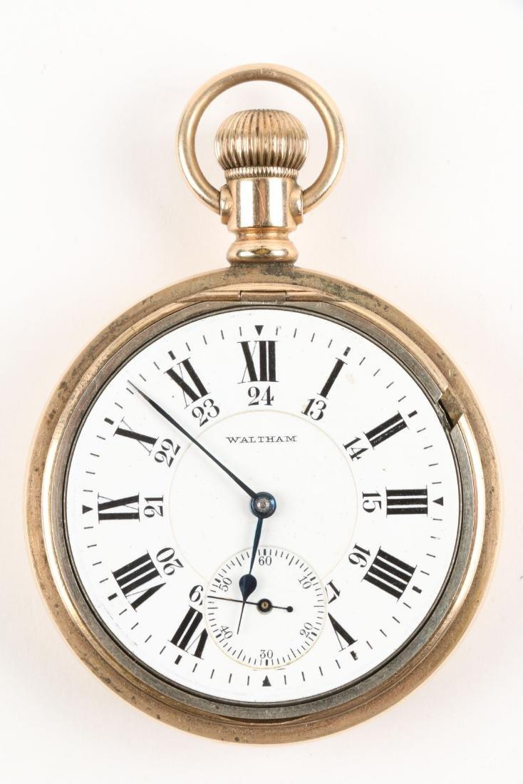 """Waltham, """"845"""" Railroad Pocket Watch - 4"""