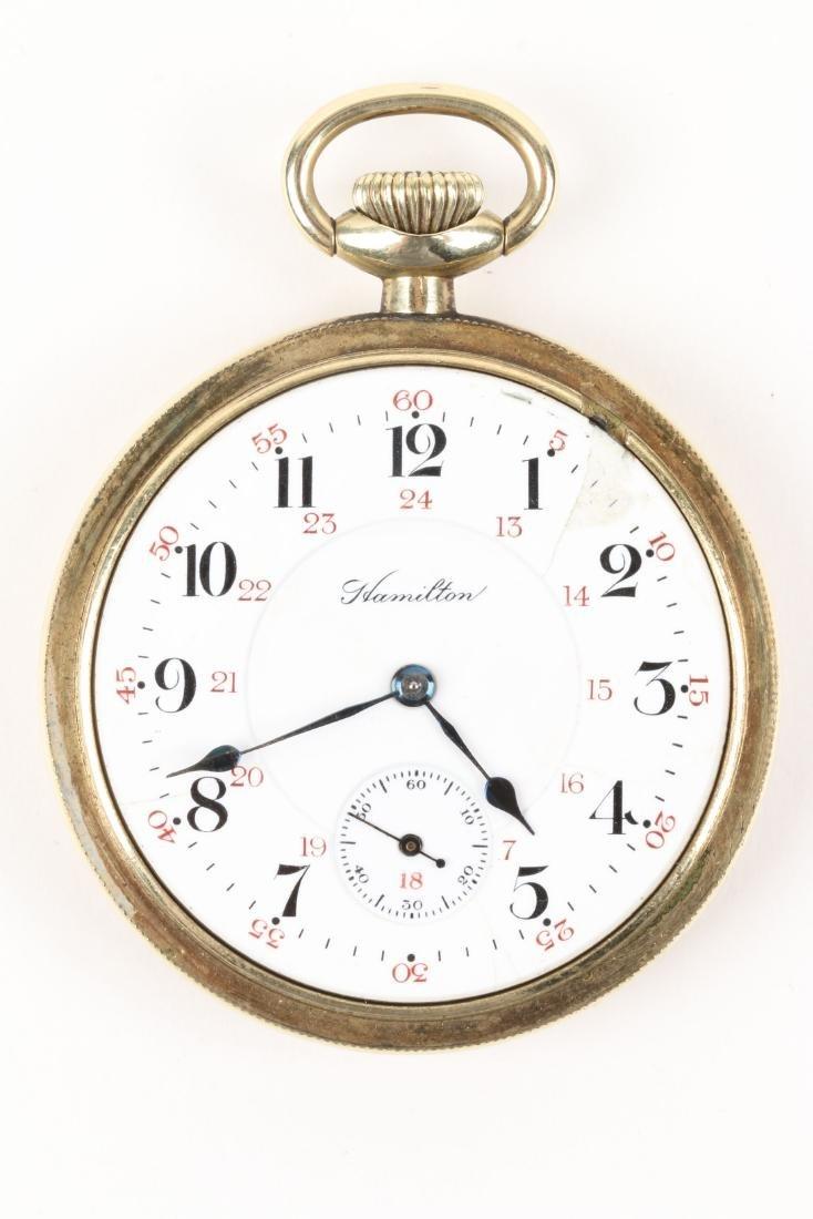 "Hamilton, ""992"" Railroad Pocket Watch - 4"