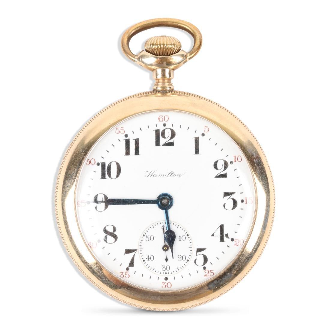 "Hamilton, ""992"" Railroad Pocket Watch"