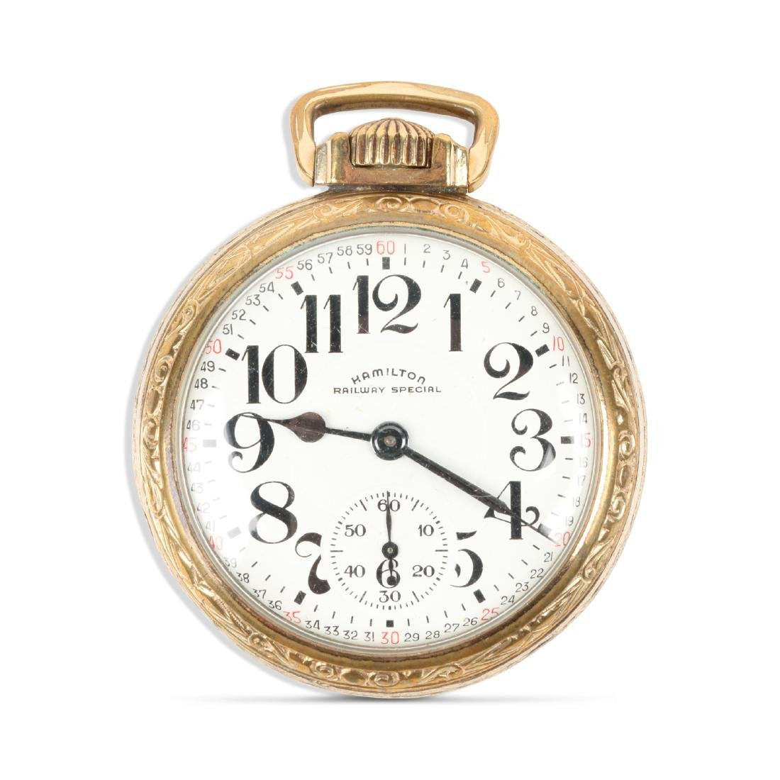 "Hamilton, ""992"" Railroad Pocket Watch"