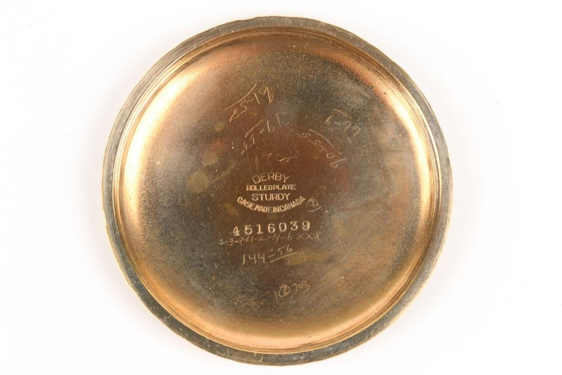"Hamilton, ""992"" Railroad Pocket Watch - 5"