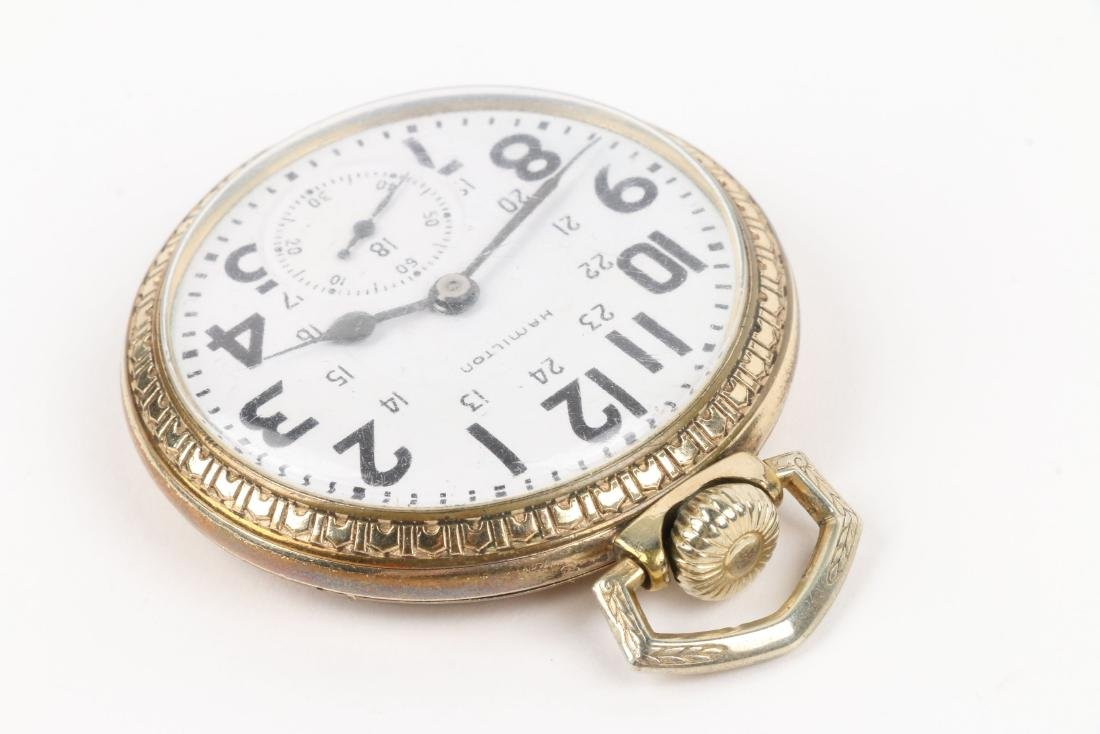 "Hamilton, ""992B"" Railroad Pocket Watch - 2"