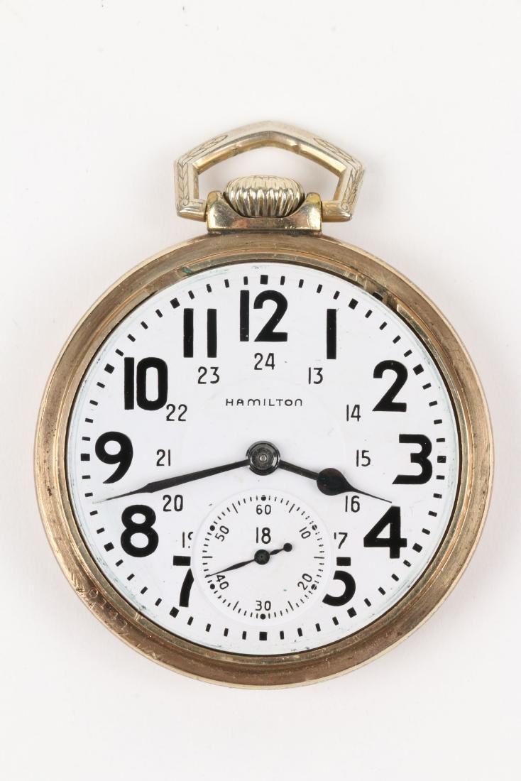 "Hamilton, ""992B"" Railroad Pocket Watch - 4"