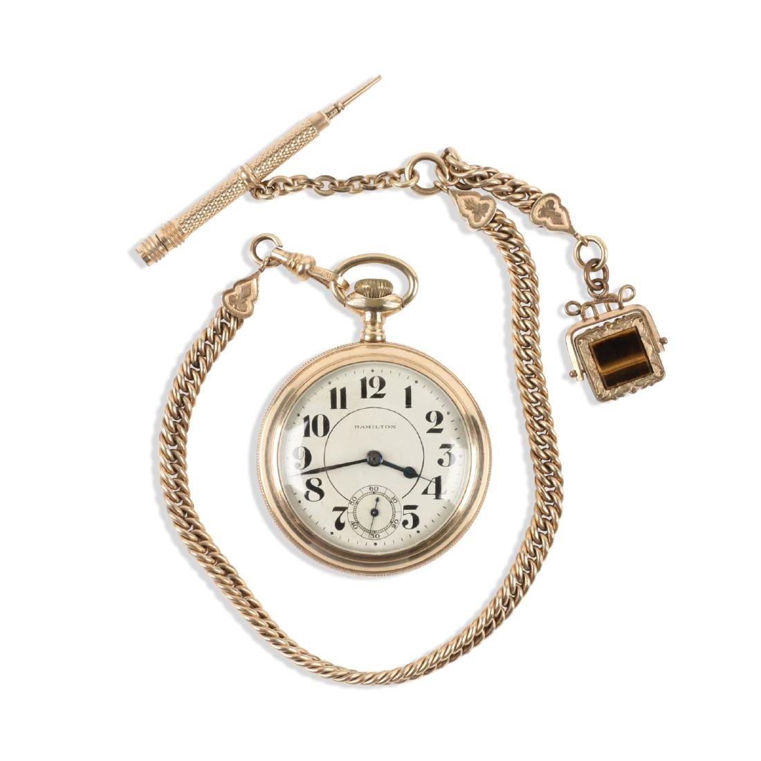 "Hamilton, ""940"" Railroad Pocket Watch"