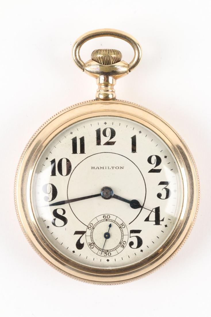 "Hamilton, ""940"" Railroad Pocket Watch - 2"