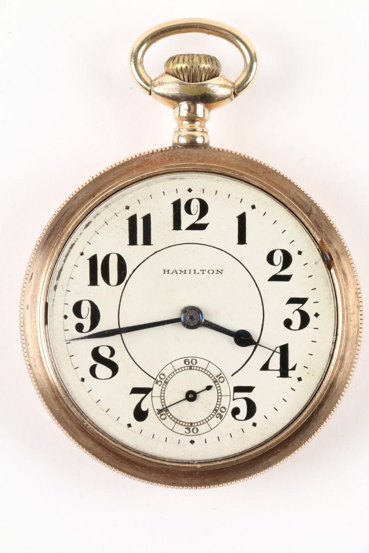 "Hamilton, ""940"" Railroad Pocket Watch - 5"