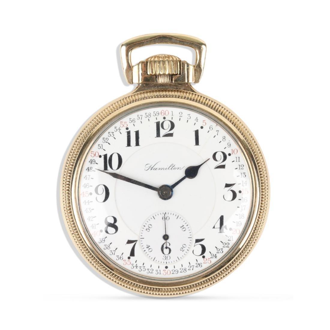 "Hamilton, ""952"" Railroad Pocket Watch"