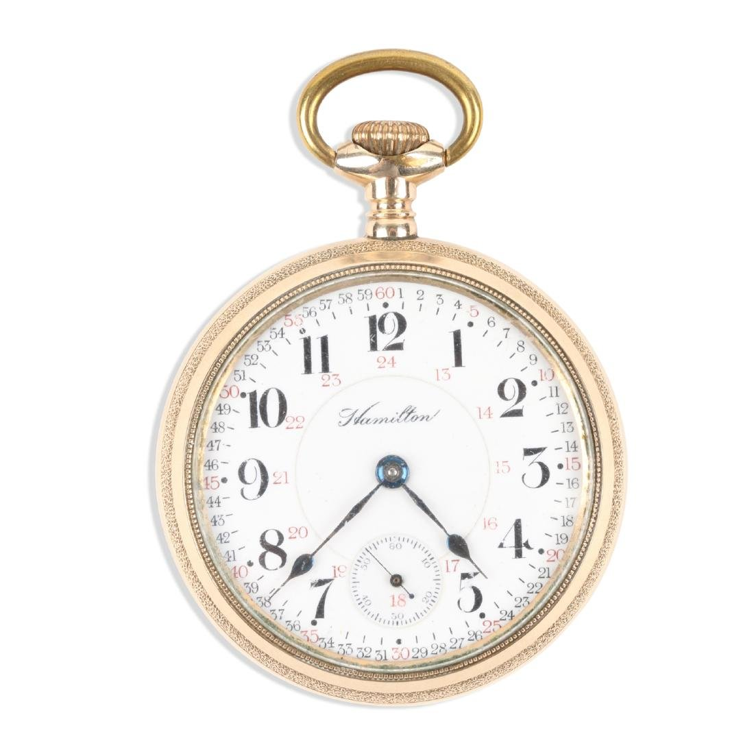 "Hamilton, ""946"" Railroad Pocket Watch"