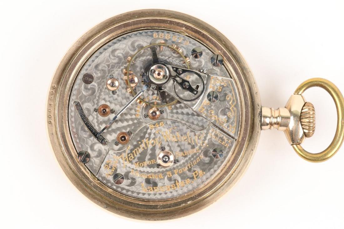 "Hamilton, ""946"" Railroad Pocket Watch - 6"