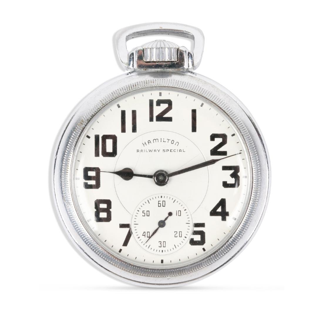 "Hamilton, ""992B"" Railroad Pocket Watch"