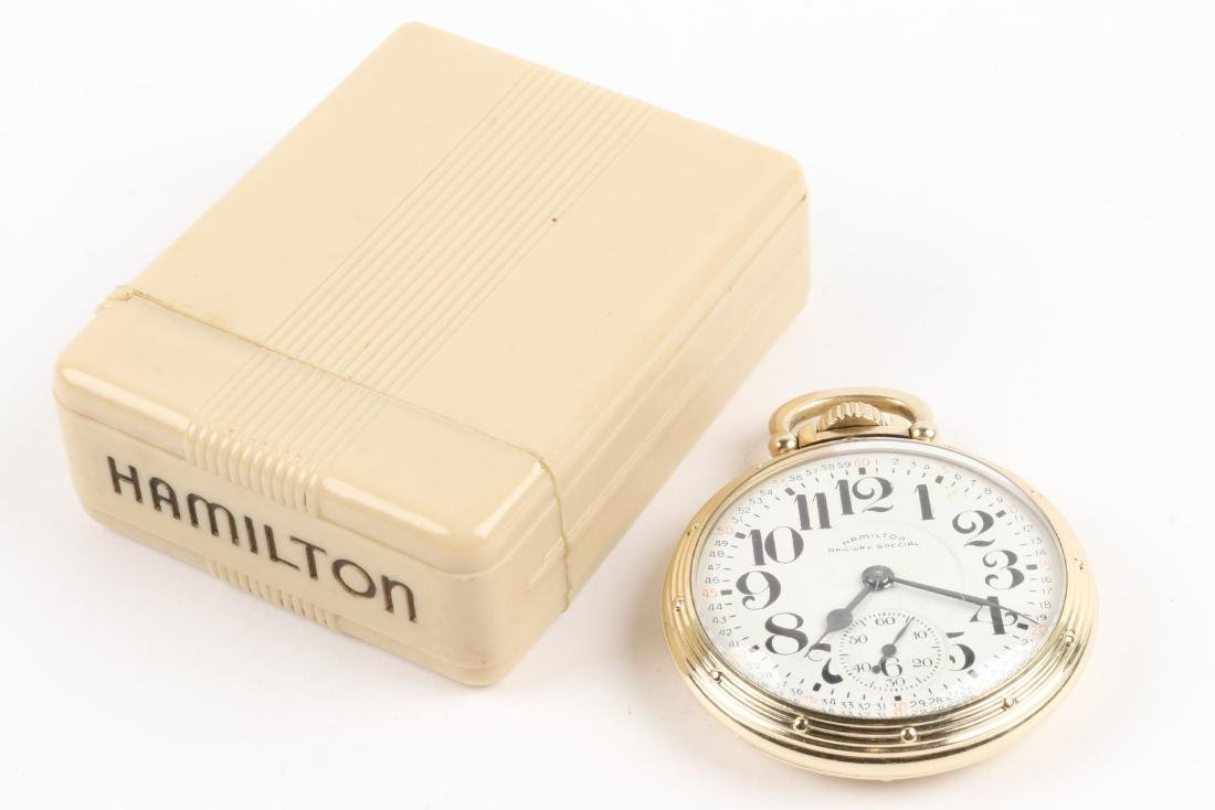"Hamilton, ""992B"" Railroad Pocket Watch - 2"