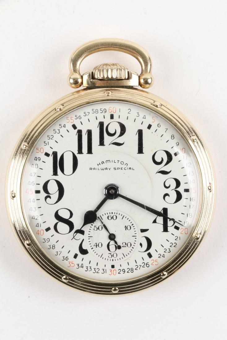 "Hamilton, ""992B"" Railroad Pocket Watch - 3"