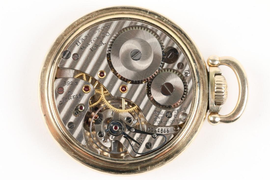 "Hamilton, ""992B"" Railroad Pocket Watch - 8"