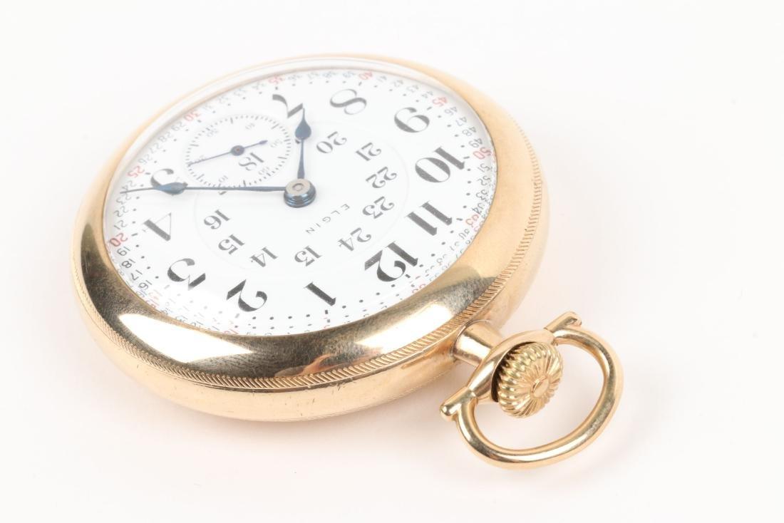 "Elgin, ""Veritas"" Railroad Pocket Watch - 2"