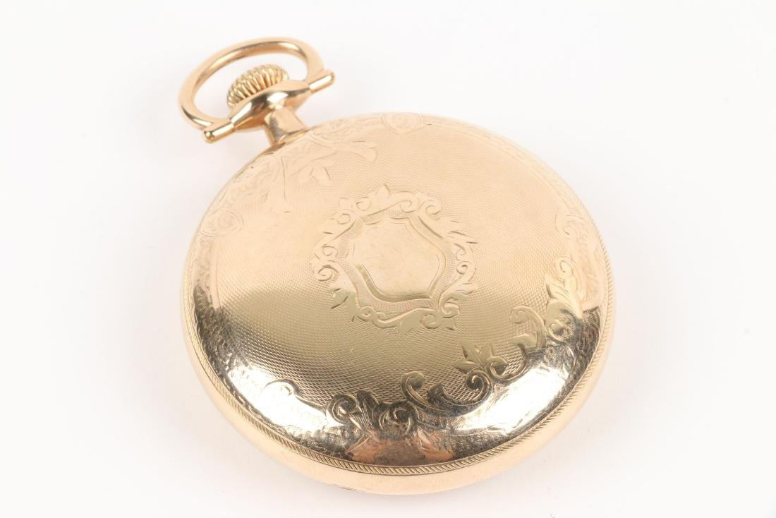 "Elgin, ""Veritas"" Railroad Pocket Watch - 3"