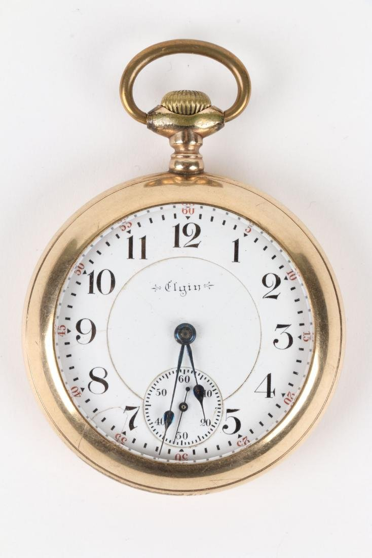 """Elgin, """"Father Time"""" Railroad Pocket Watch - 2"""