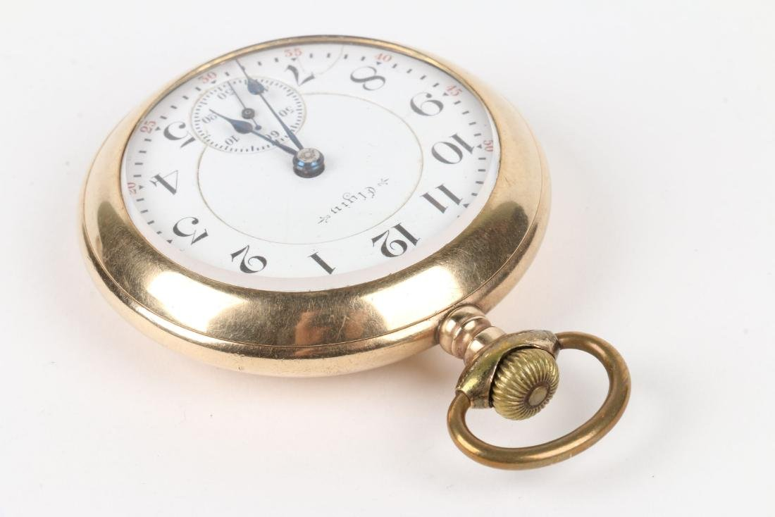 """Elgin, """"Father Time"""" Railroad Pocket Watch - 3"""