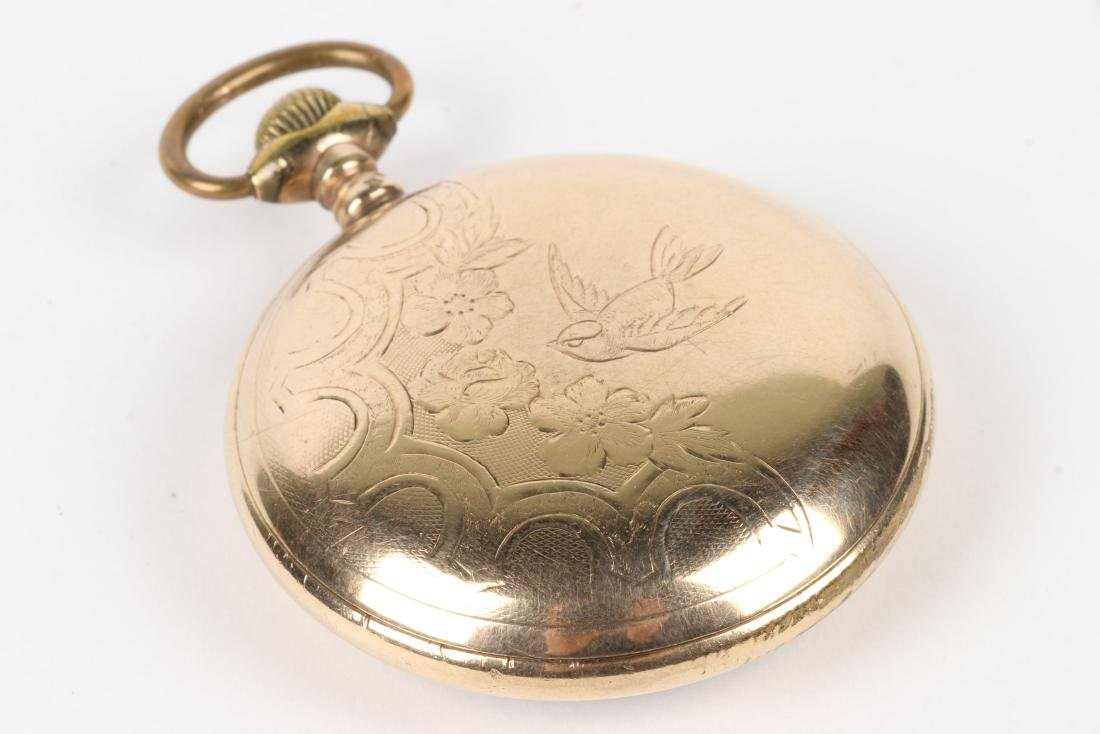 """Elgin, """"Father Time"""" Railroad Pocket Watch - 4"""