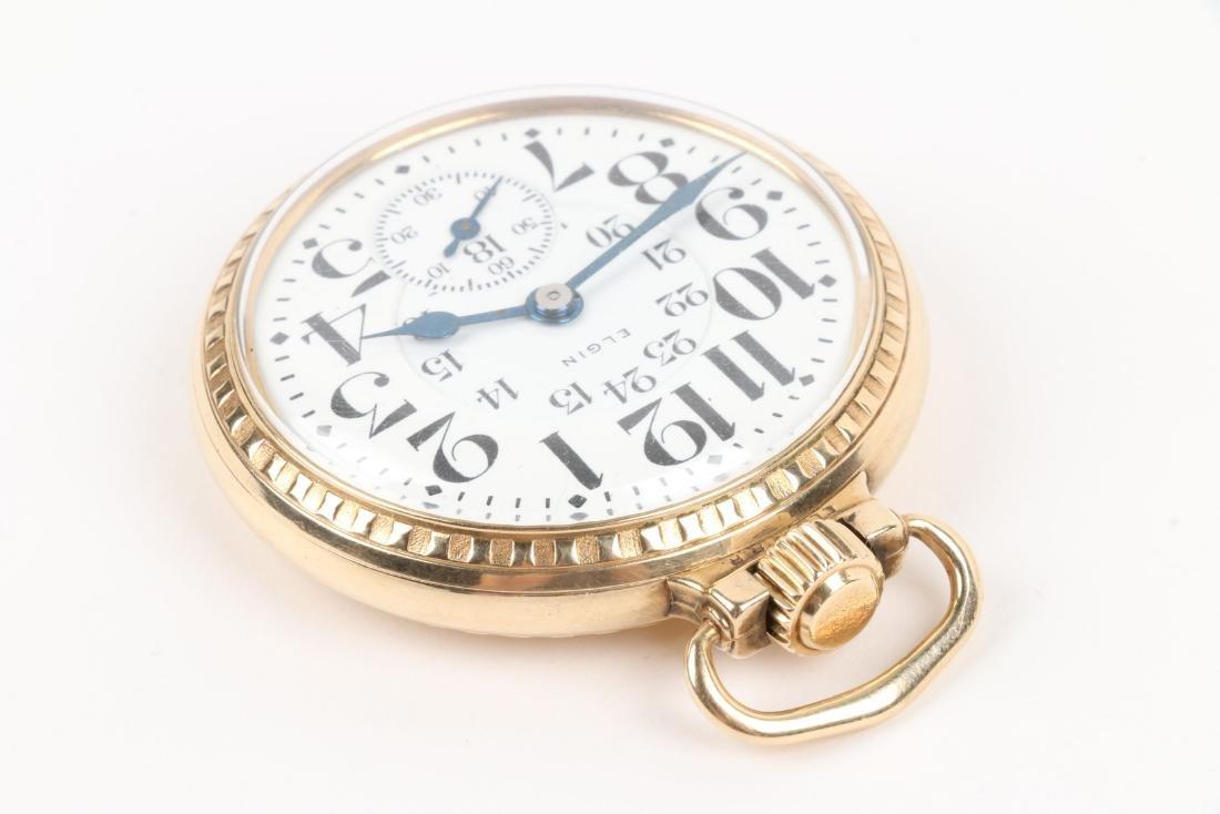 """Elgin, """"B.W Raymond"""" Pocket Watch - 2"""