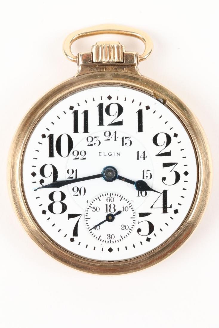 """Elgin, """"B.W Raymond"""" Pocket Watch - 4"""