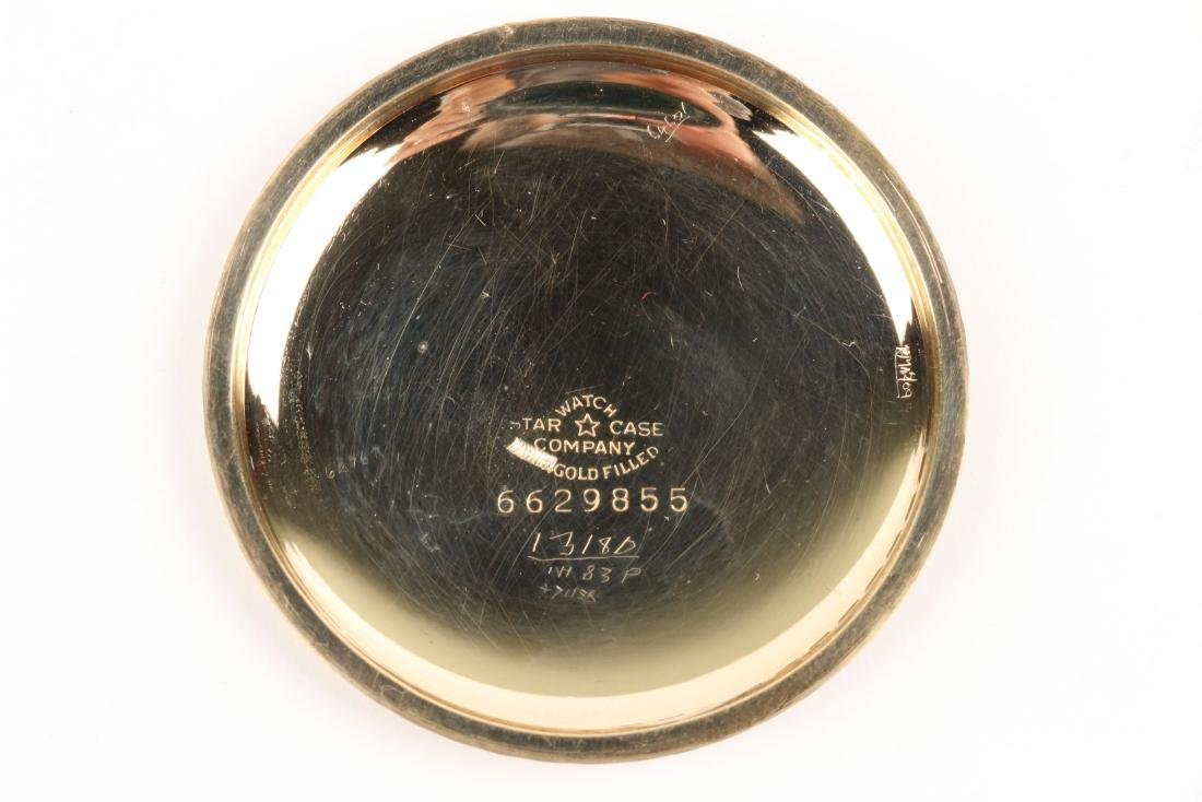 """Elgin, """"B.W Raymond"""" Pocket Watch - 5"""