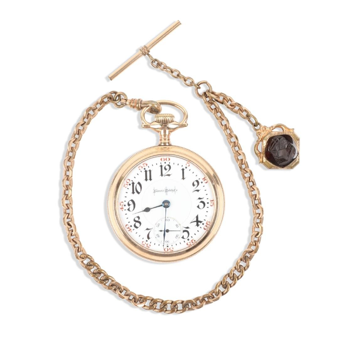 "Illinois, ""Bunn Special"" Railroad Pocket Watch"