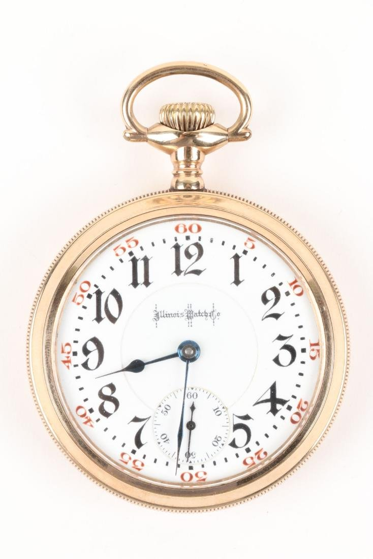 "Illinois, ""Bunn Special"" Railroad Pocket Watch - 2"