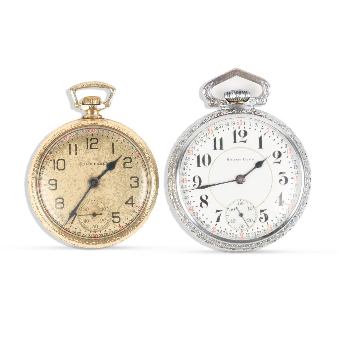 "South Bend, ""227"" Model & Studebaker Pocket Watches"