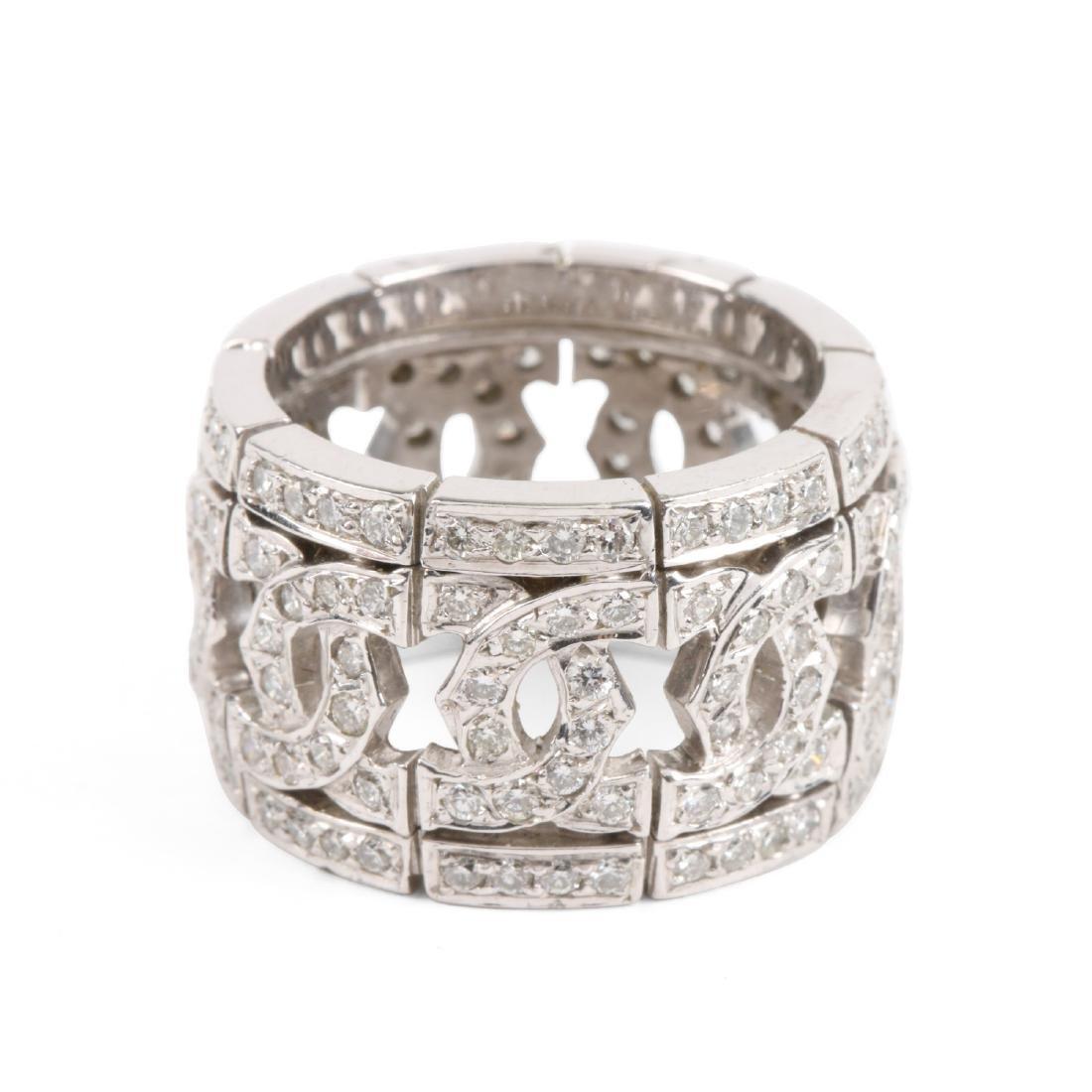 A 14K & Diamond Ring