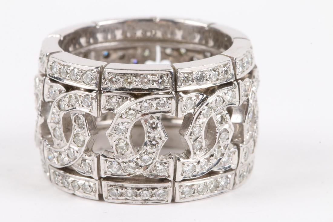 A 14K & Diamond Ring - 2