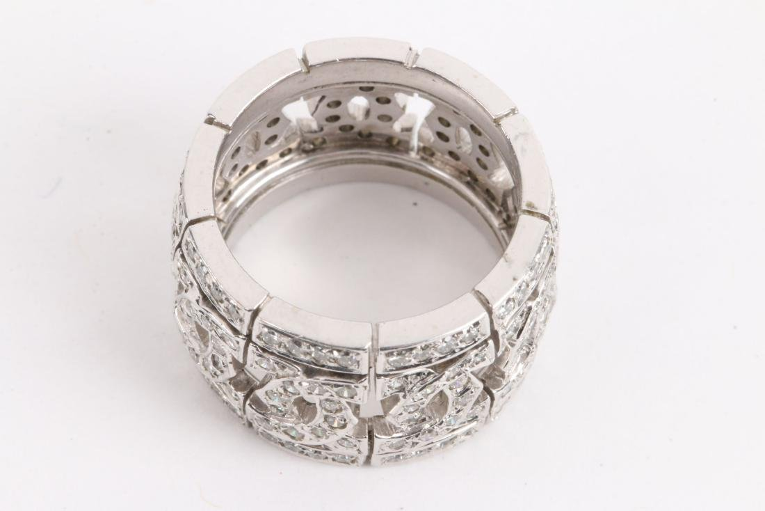 A 14K & Diamond Ring - 4