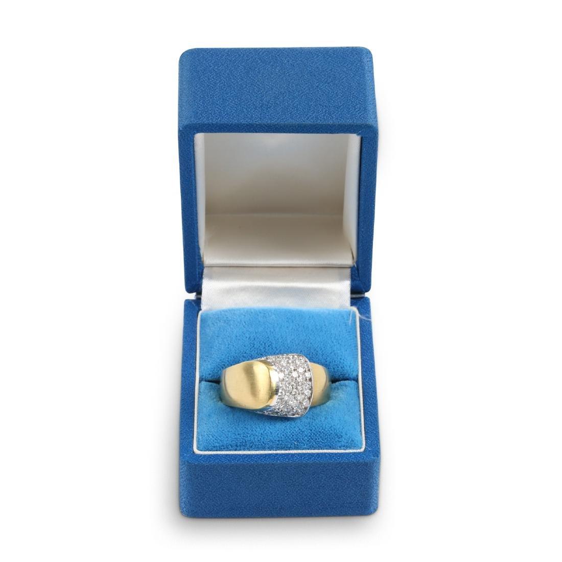 An 18K Gold & Diamond Ring