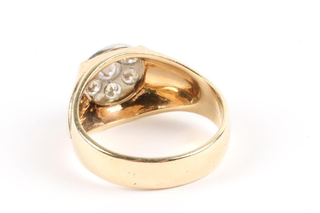 A 18K Gold & Diamond Ring - 4