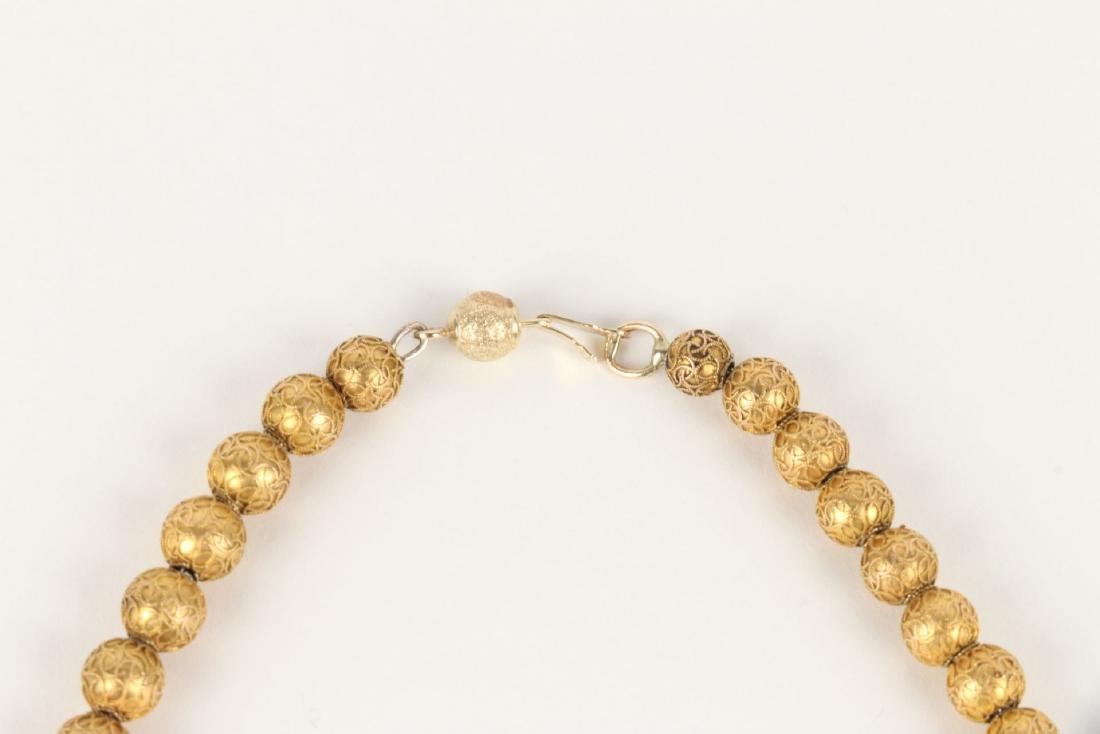 An 18K Yellow Gold Necklace - 3