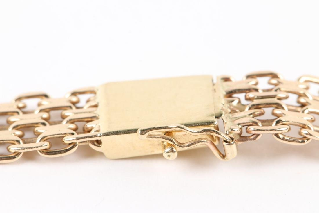 A 14K Yellow Gold Choker Necklace - 5