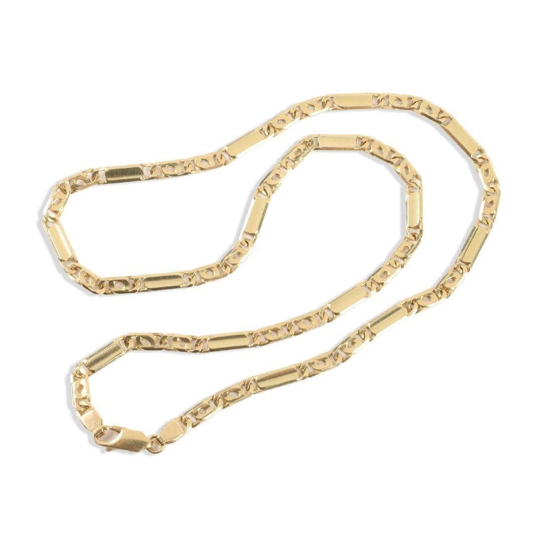 An 18K Gold Chain