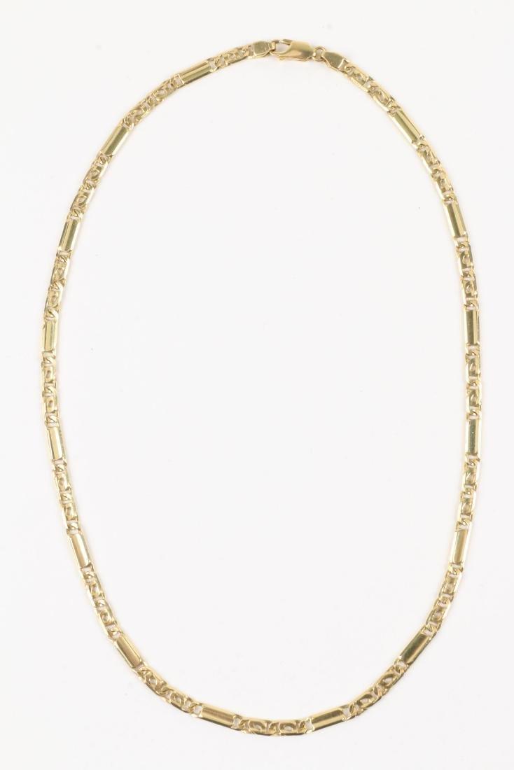 An 18K Gold Chain - 2