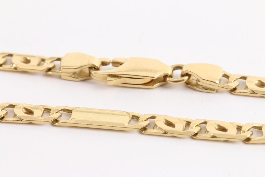 An 18K Gold Chain - 3