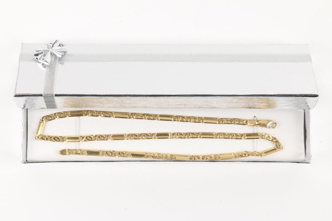 An 18K Gold Chain - 5