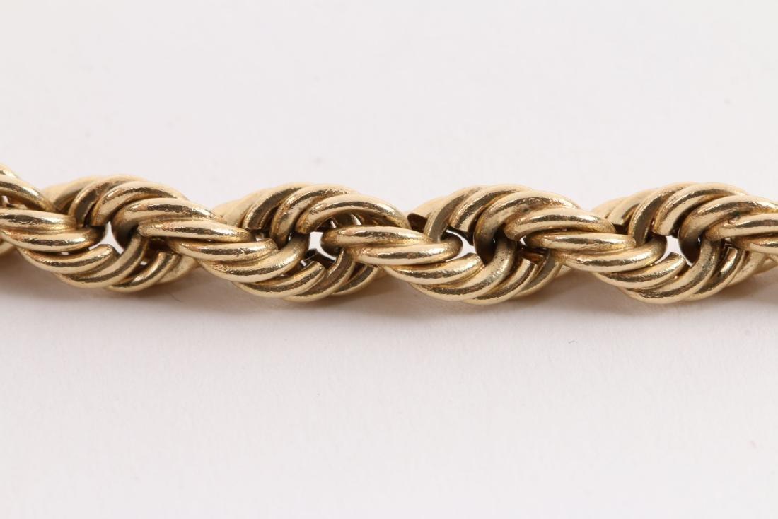A 14K Gold Necklace - 3