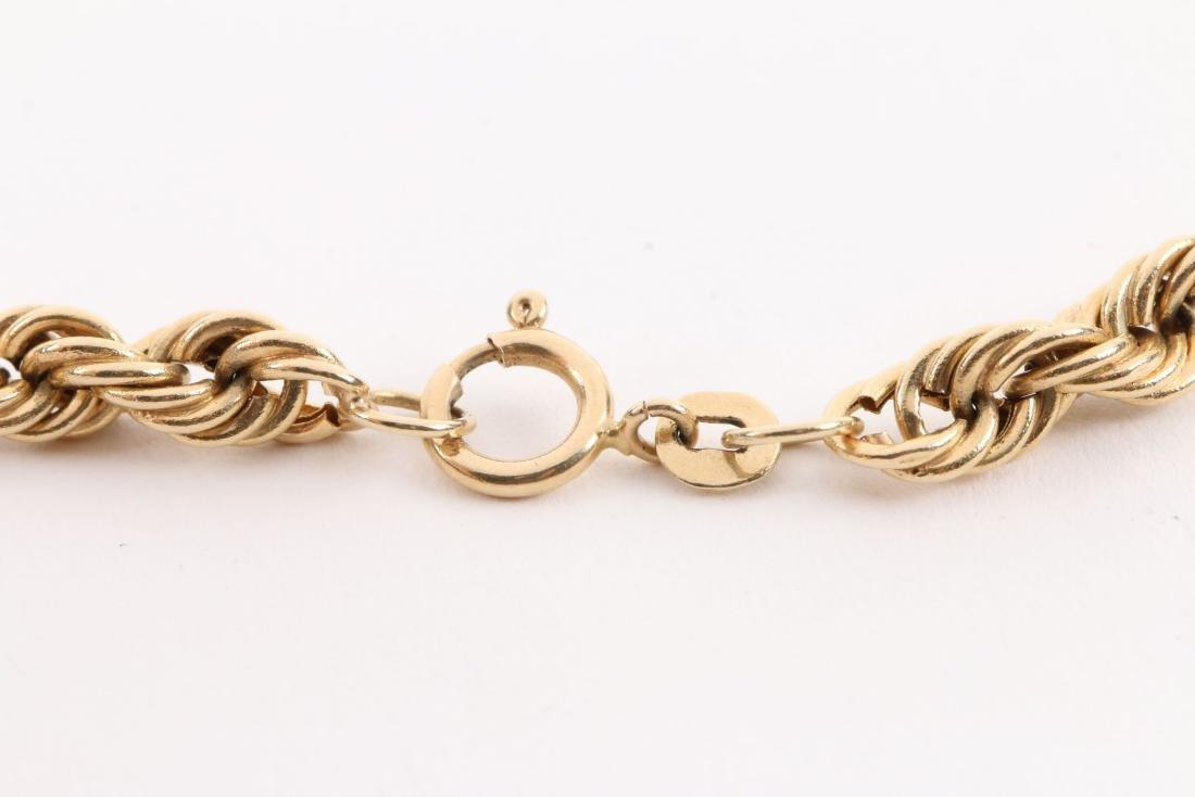 A 14K Gold Necklace - 4
