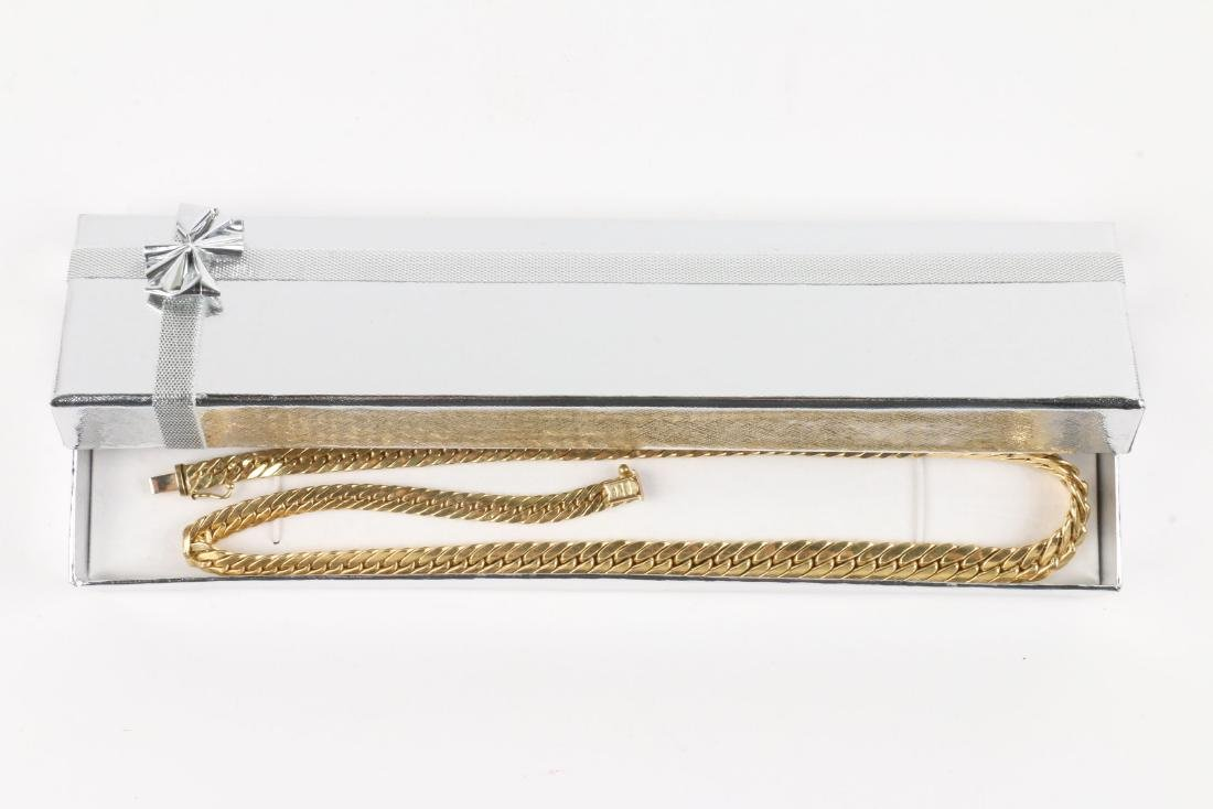 An 18K Gold Necklace - 6