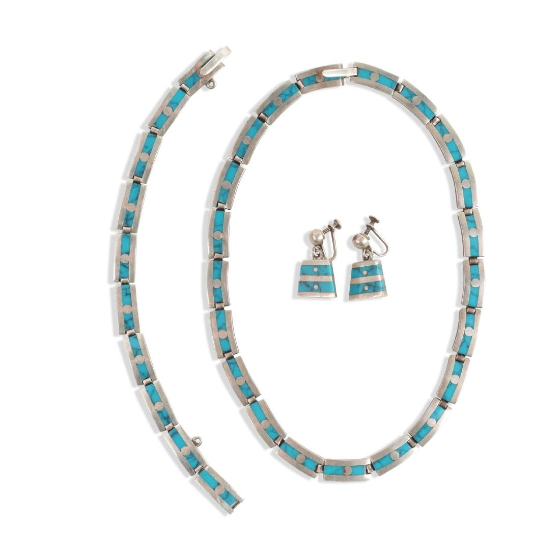 Emma Melendez Sterling Silver & Turquoise Accessories