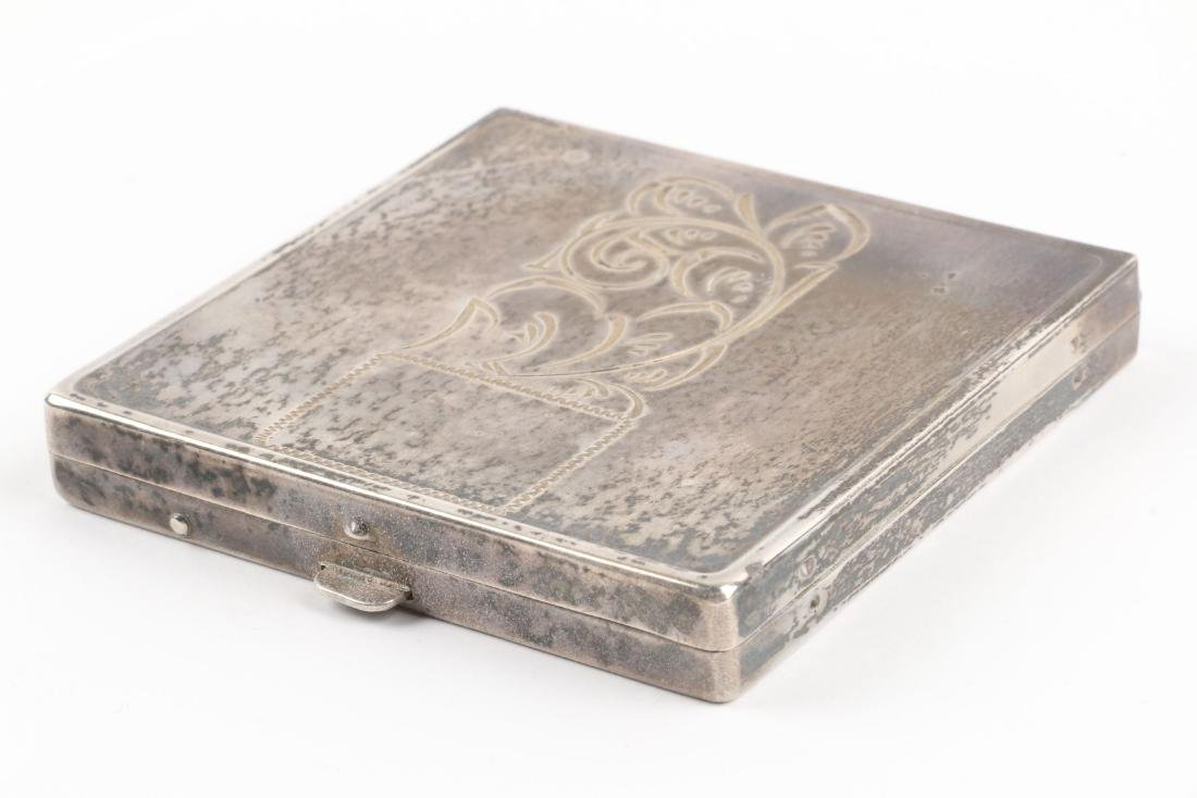 A Mid-Century Sterling Silver Compact - 2