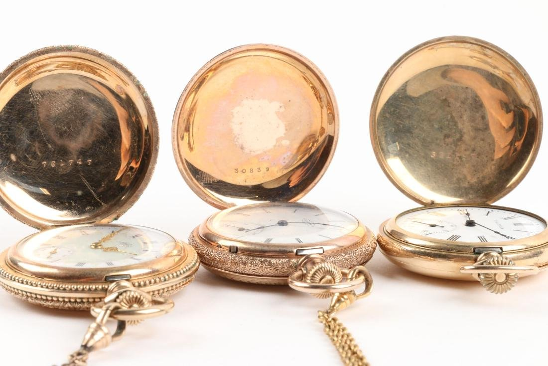 Waltham, Elgin, Lady's Pocket Watches & Chains - 7
